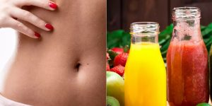 bebidas para derreter gordura da barriga