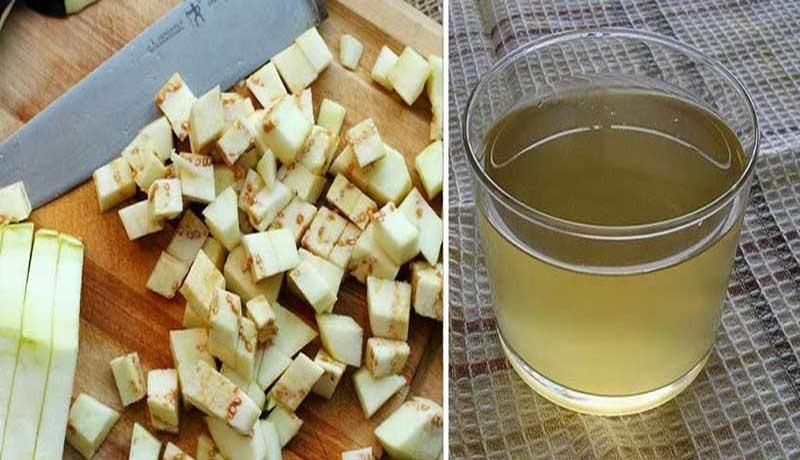 água de berinjela para perder peso