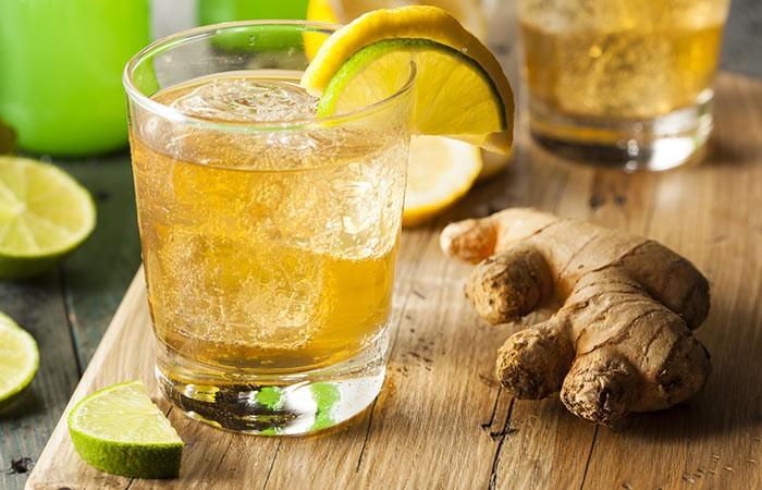 hortelã, gengibre e limão para secar barriga em 1 semana