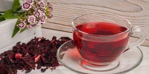 como fazer chá de hibisco para perder peso