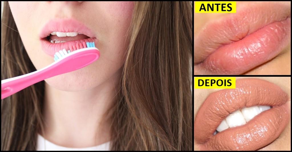 Como Aumentar os Lábios em Menos de 1 Minuto!