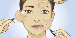 máscara caseira de glicerina para eliminar rugas
