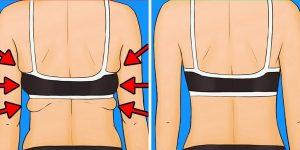exercícios para eliminar gordura nas costas e nos braços
