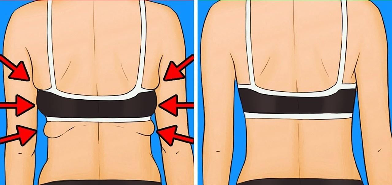 Os 6 Exercícios Para Eliminar Gordura Nas Costas e nos Braços!
