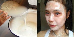 máscara japonesa para ter uma pele bonita