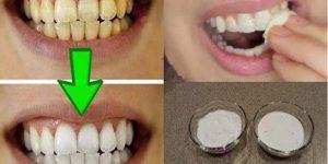 mistura para clarear os dentes