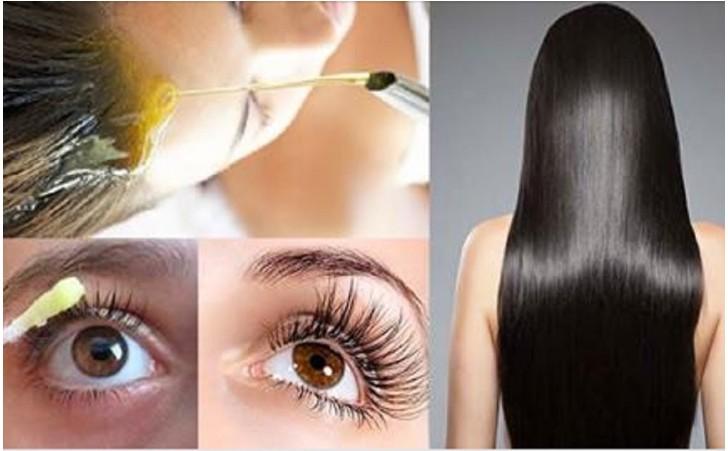 crescer o cabelo sobrancelhas e cílios