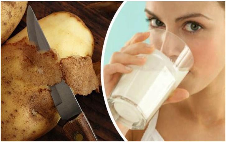 suco de batata para tratar gastrite e limpar o figado
