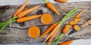 beneficios da cenoura na pele