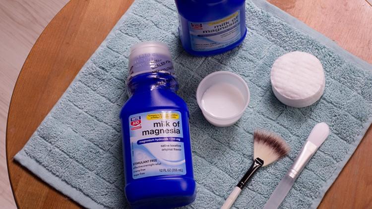 leite de magnesia para axilas